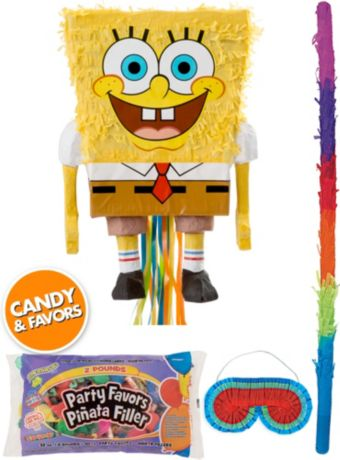 SpongeBob Pinata Kit with Candy & Favors