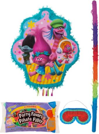 Trolls Pinata Kit with Candy & Favors