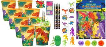 Prehistoric Dinosaurs Basic Favor Kit for 8 Guests