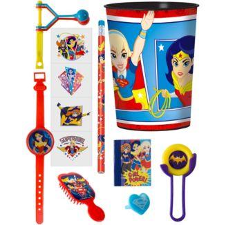 DC Super Hero Girls Super Favor Kit for 8 Guests