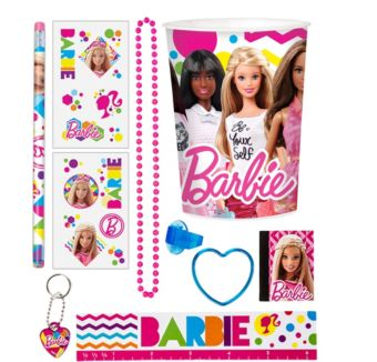 Barbie Super Favor Kit for 8 Guests