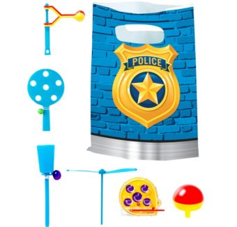 Police Basic Favor Kit for 8 Guests