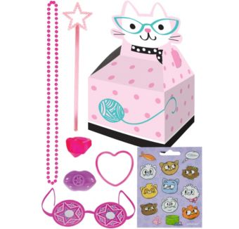 Purrfect Cat Basic Favor Kit for 8 Guests