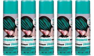 Turquoise Hair Spray 5ct