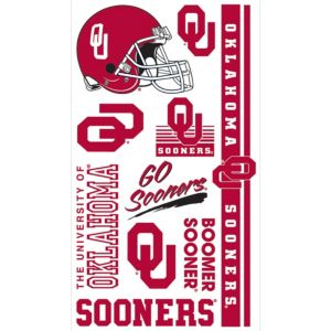 Oklahoma Sooners Tattoos 7ct