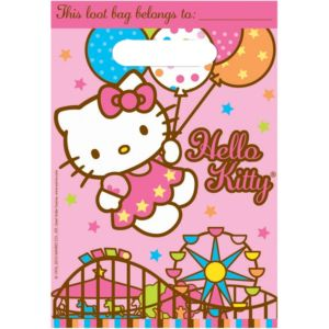 Hello Kitty Favor Bags 8ct