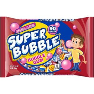 Original Super Bubble Gum 90ct
