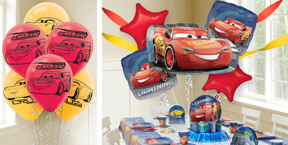 Cars Balloons
