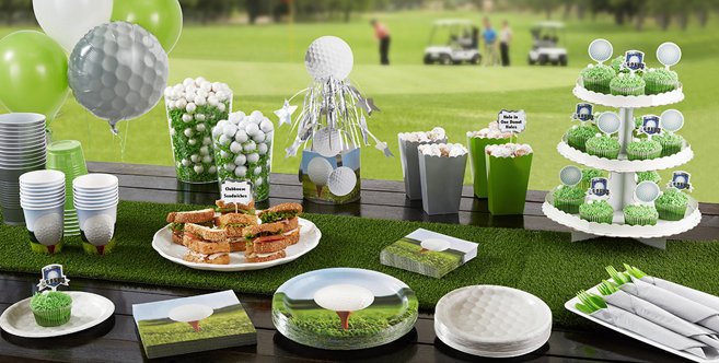 Golf Party Supplies, Decorations, Invitations & Party Favors