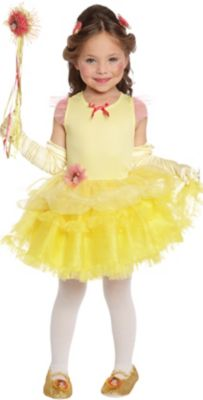 Disney princess belle yellow dress.