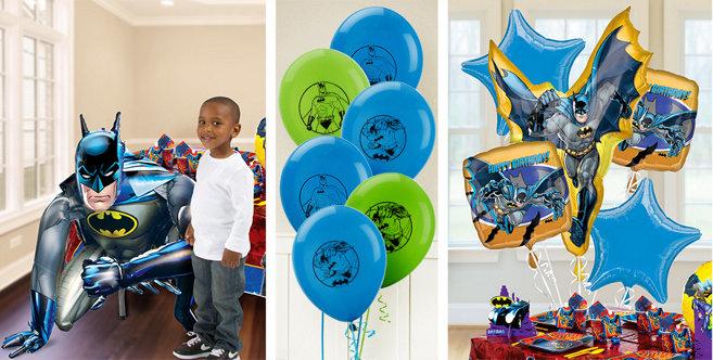 Batman Balloons Party Decorations Batman Balloons Party City