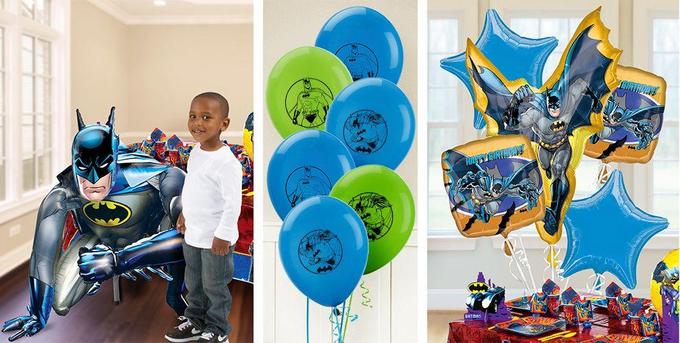 Batman Balloons - Party City