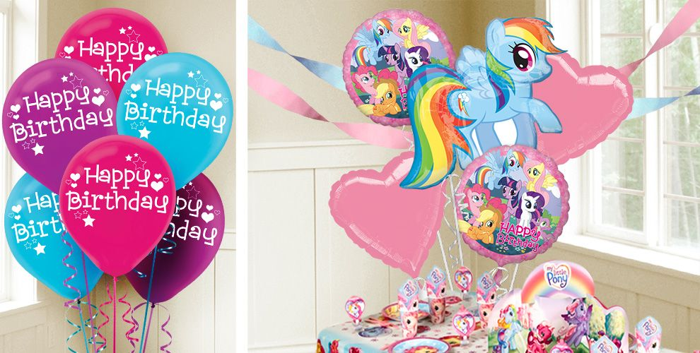 My Little Pony Balloons Party City