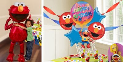 Elmo Balloons Party City