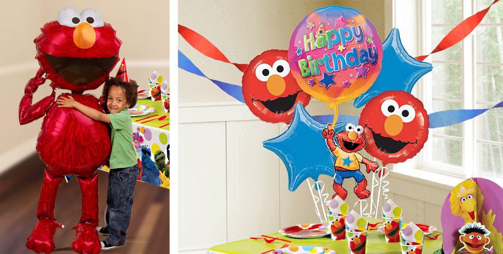 Elmo Balloons