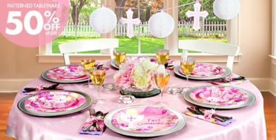 Girls First Communion Party Supplies Party City
