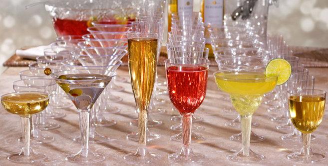 Plastic Cups Amp Stemware Plastic Stemware Wine Glasses