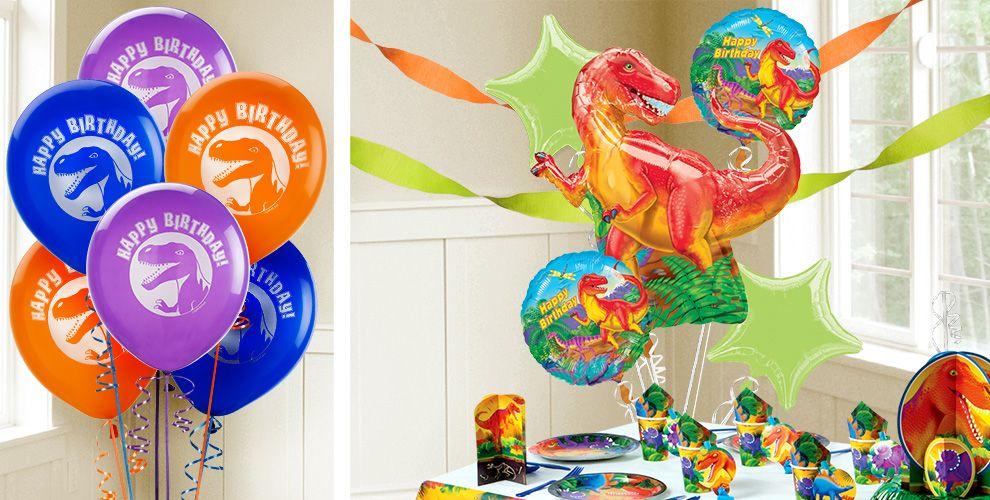 Prehistoric Dinosaur Balloons - Party City