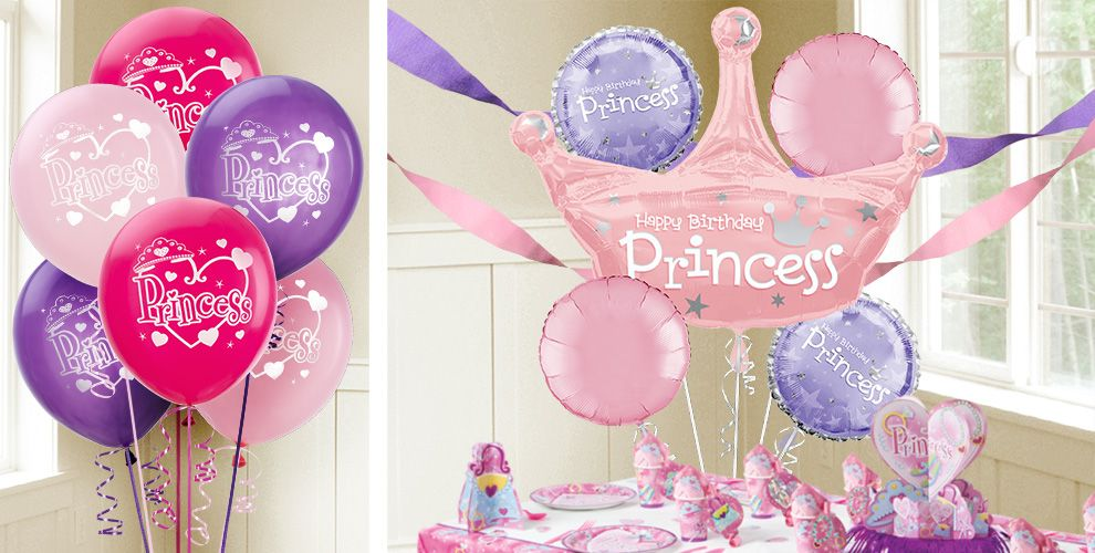 Princess Balloons - Party City