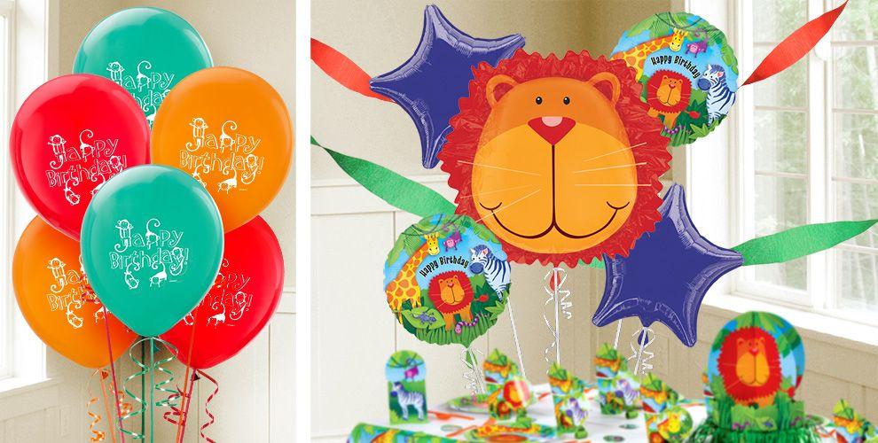 Jungle Animals Balloons - Party City
