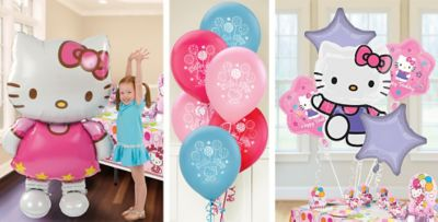 Hello Kitty Balloons Party City