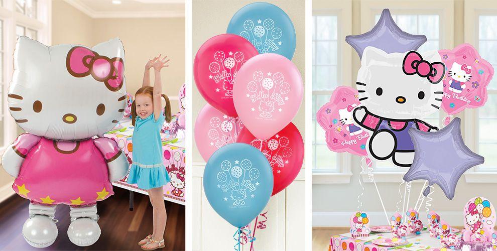 Hello Kitty Balloons - Party City