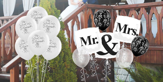 Wedding Balloons & Balloon Bouquets - Party City