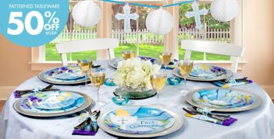 Boys First Communion Party Supplies Party City