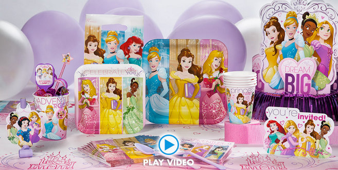 Disney Princess Party Supplies Princess Birthday Party