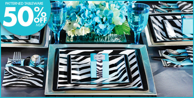 zebra print party decoration ideas elitflat