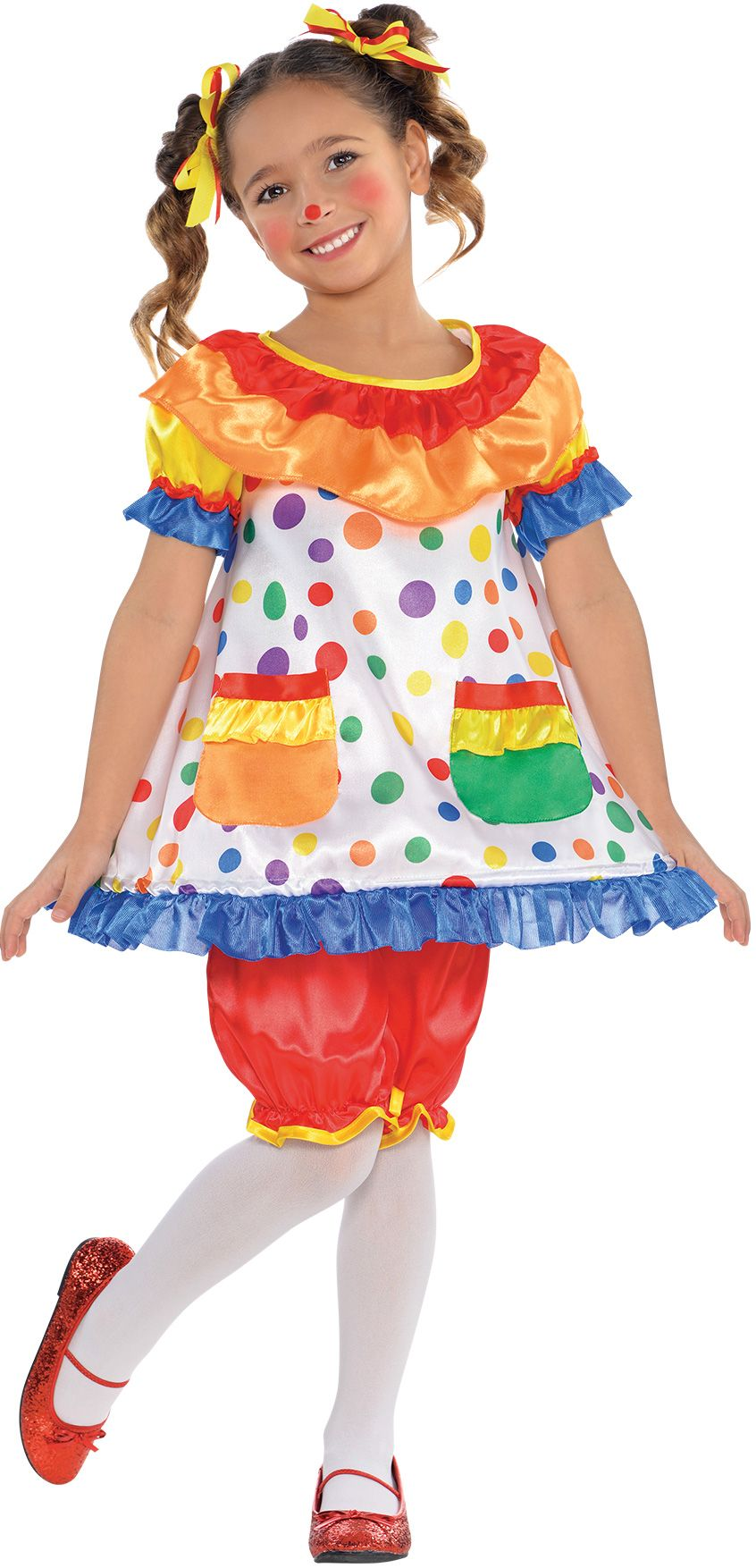 Create Your Own Girls Clown Costume Accessories Party City