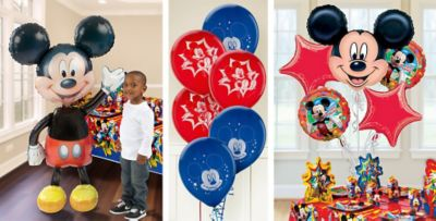 Mickey Mouse Balloons Party City