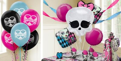 Monster High Balloons Party City