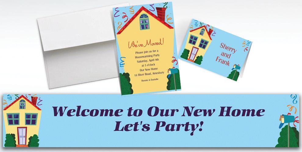 Custom Housewarming Invitations & Thank You Notes - Party City
