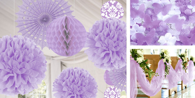 Lilac Wedding Decorations