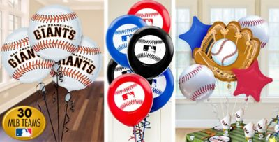 Baseball Balloons Party City