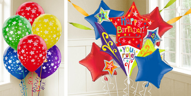Birthday Star Balloons - Party City