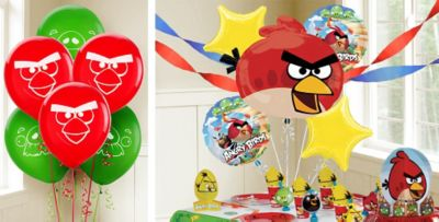 Angry Birds Balloons Party City