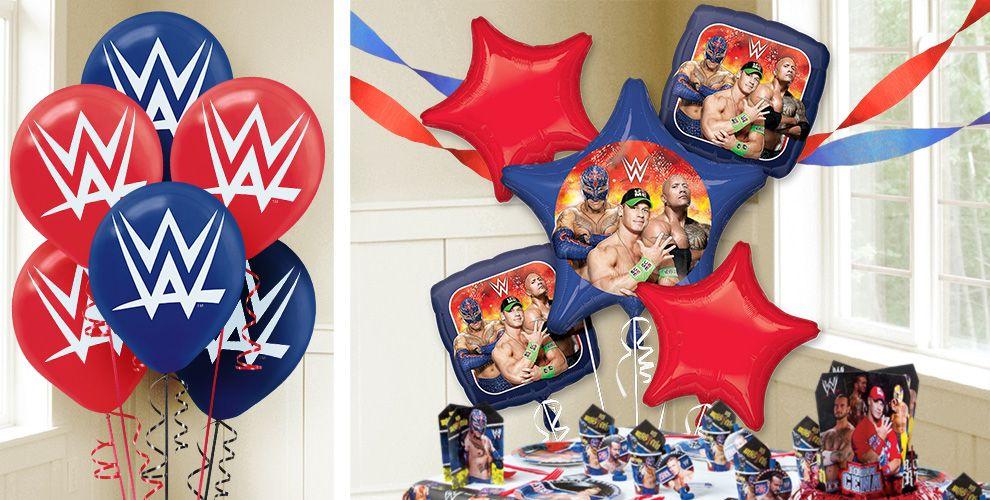 WWE Balloons