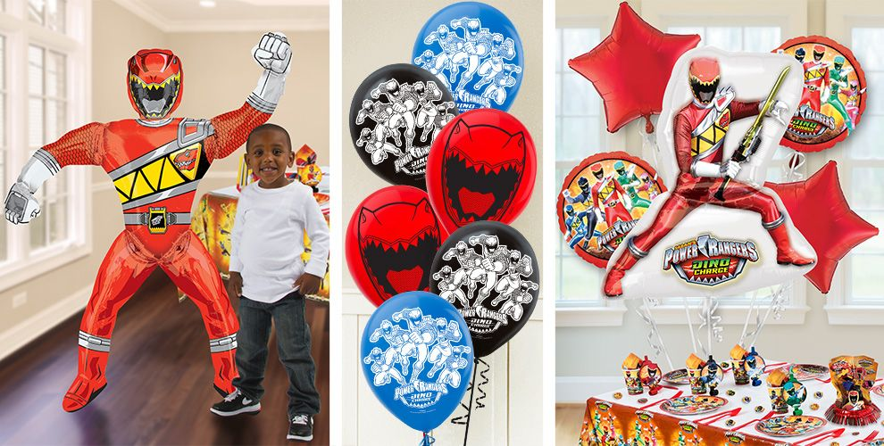 Power Rangers Balloons