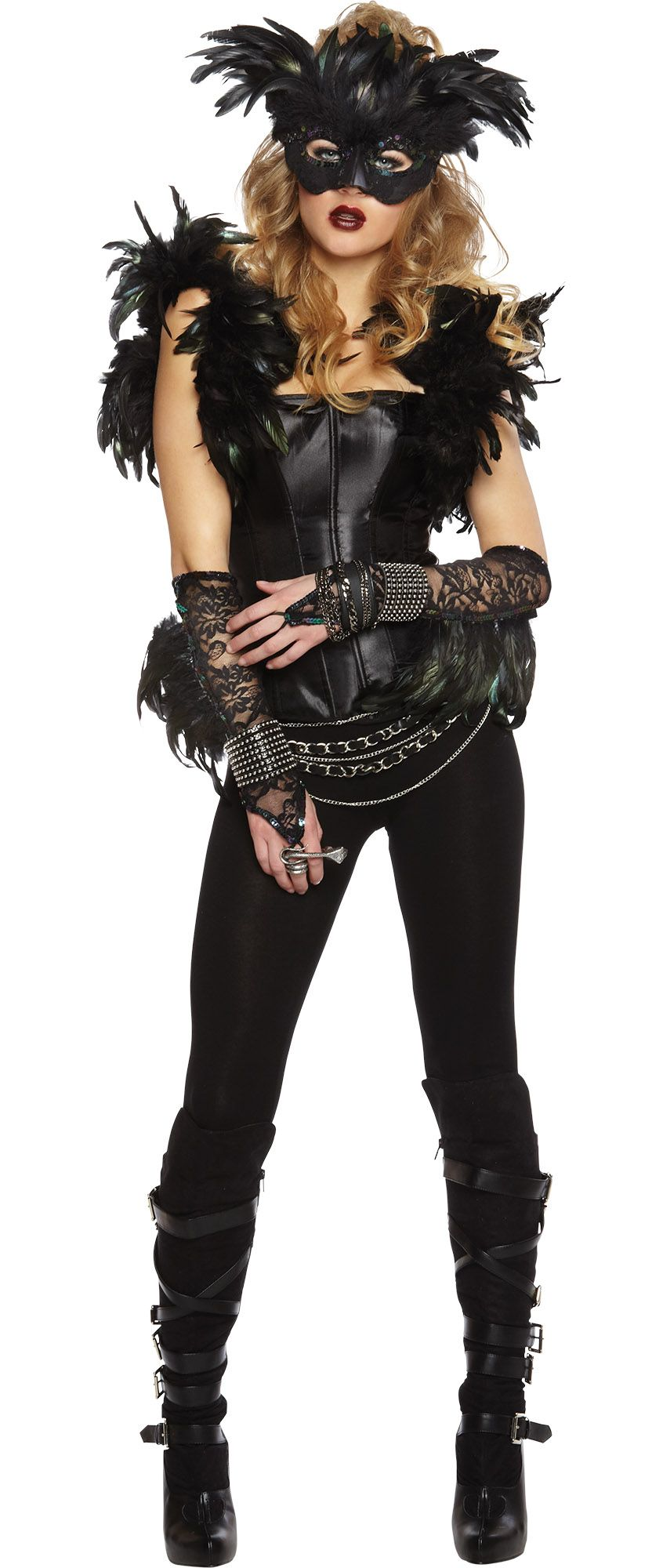 Create Your Own Women's Fantasy Raven Costume Accessories   Party City