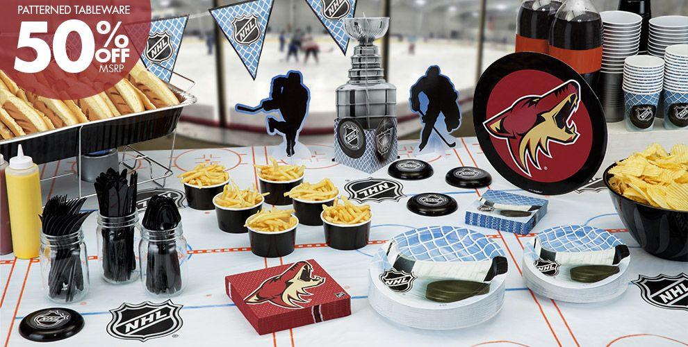 NHL Arizona Coyotes Party Supplies