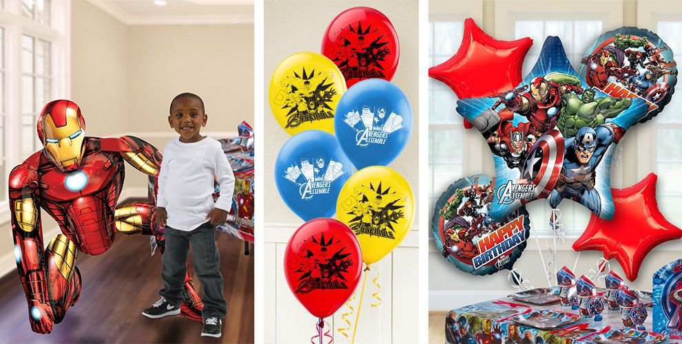 Party City Spiderman Balloons