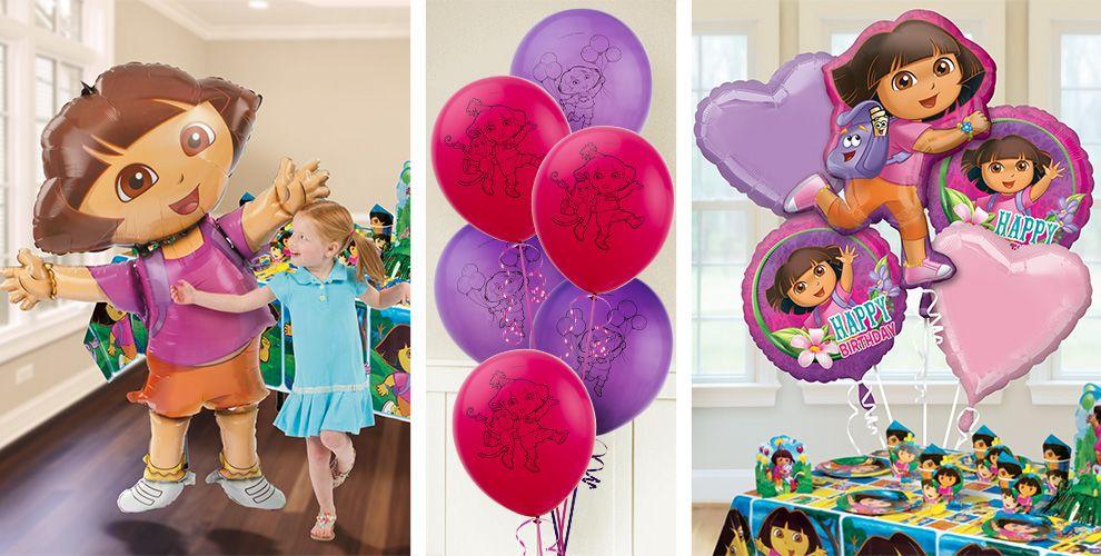 Dora Balloons - Party City