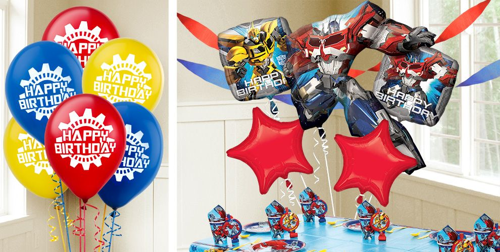Transformers Balloons
