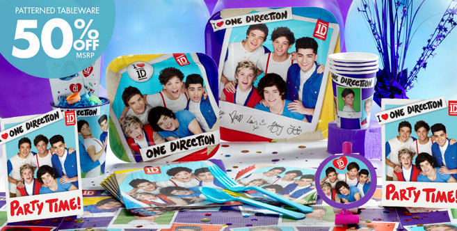 one direction party supplies one direction is what makes your birthday