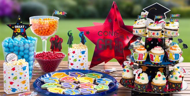 Graduation Cupcake Amp Cake Supplies Party City
