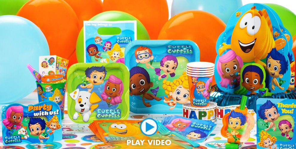 Bubble Guppies Party Supplies Bubble Guppies Birthday