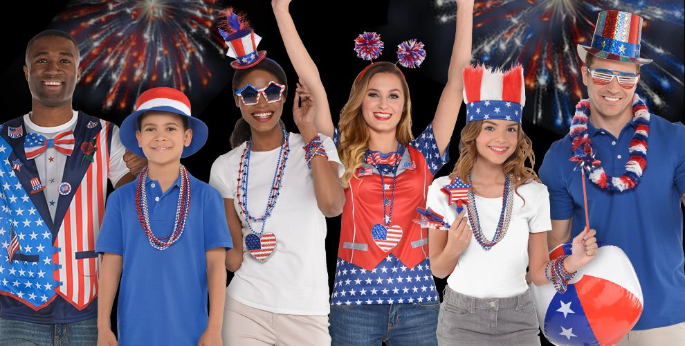 4th Of July Costume Accessories Party City