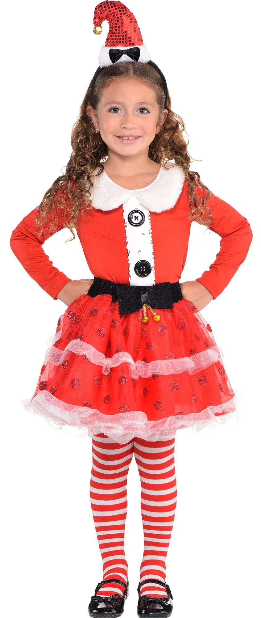 Girls Santa Wearables